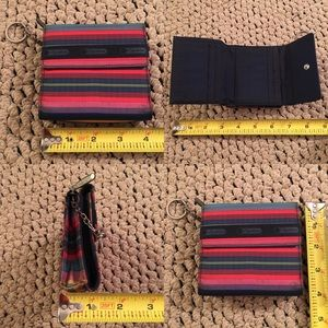 Lesportsac Bags - 3 HRS TO GO! LeSportsac Trifold Wallet w Keychain
